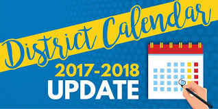 Update on Spring Recess and the Revised 2017-2018 School Calendar