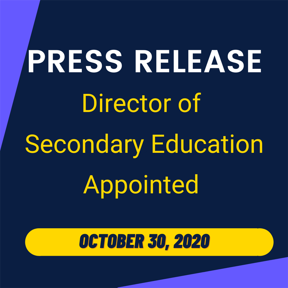 Matthew Mignanelli Appointed as Director of Secondary Education