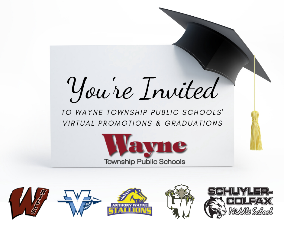 Wayne Township Public Schools 2020 Virtual Promotions and Graduations
