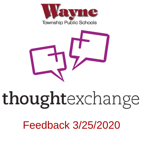 Letter from the Superintendent  - Thoughtexchange Feedback