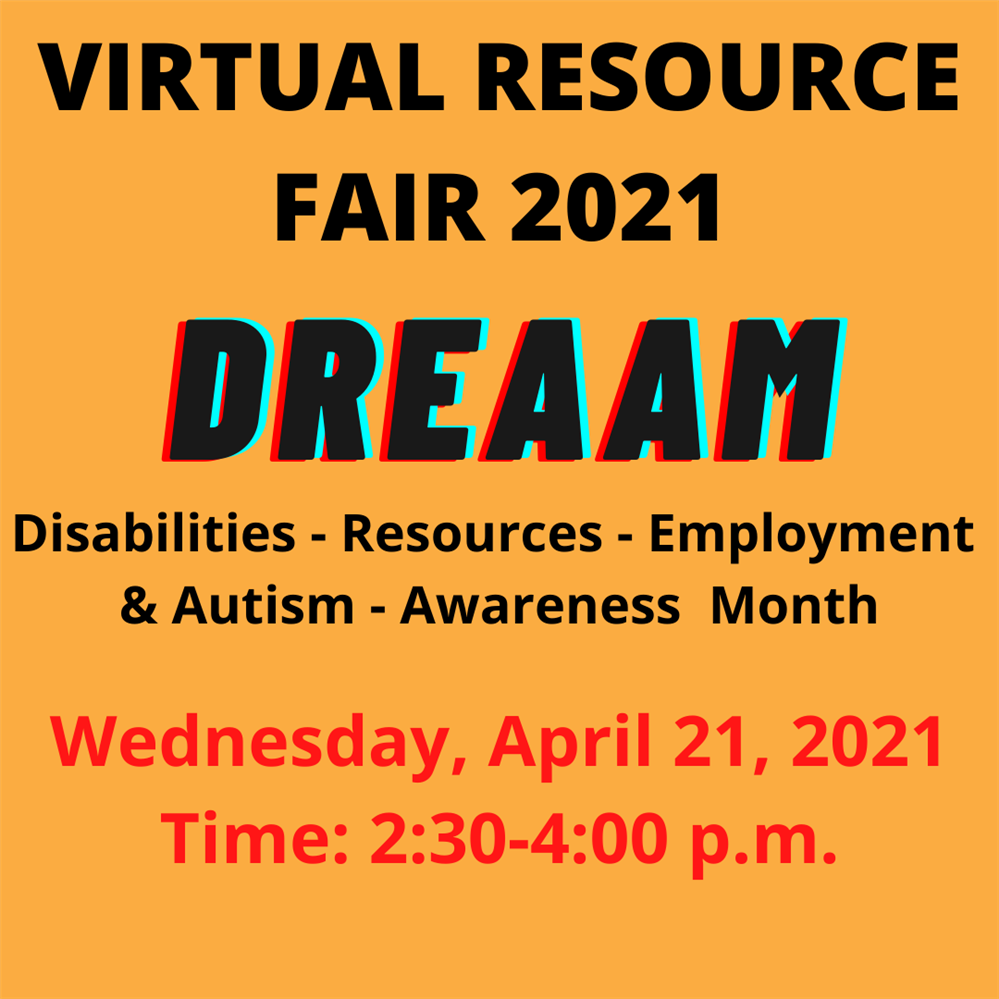 Virtual Resource Fair - April 21, 2021