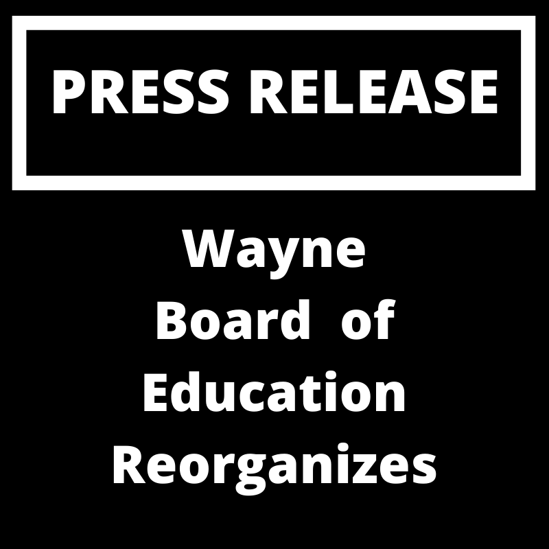 Wayne Board of Education Reorganizes
